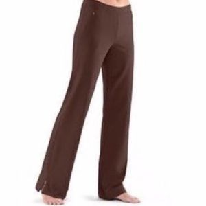 Lucy Tech Brown Yoga Pants